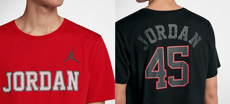 "Jordan Retro 10 ""Number 45"" T-Shirt to Match Upcoming Air Jordan 10 Retros"