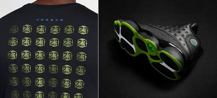 """Air Jordan 13 Retro """"Altitude"""" x Jordan Sportswear AJ13 T-Shirt"""