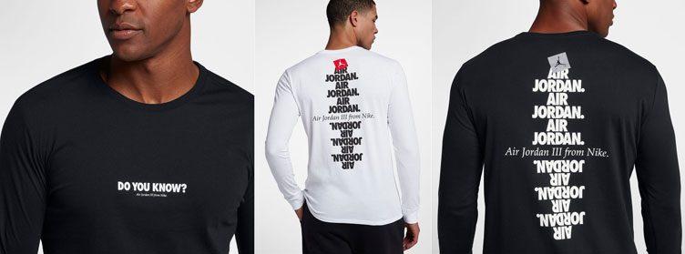 air-jordan-3-black-cement-2018-shirt