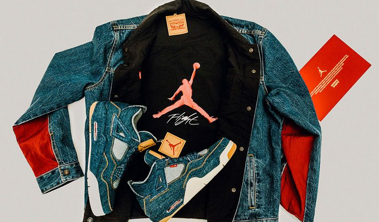 Jordan Brand x Levi's Air Jordan 4 and Reversible Trucker Jacket (Release Date, Store Lists & Official Images)