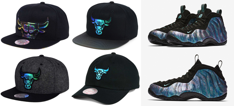 "3454b423 foamposite-abalone-matching-hats. If you copped the Nike Air Foamposite One  "" ..."
