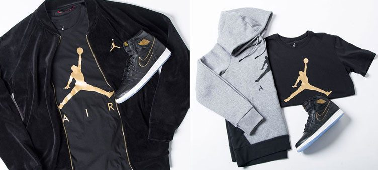 "Air Jordan 1 Retro High ""City of Flight"" Apparel Hook-Ups at Champs Sports"