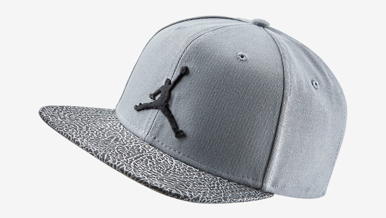 coupon for nike air jordan elephant print snapback hat fe4b8 abfb1  new  zealand jordan cool grey elephant print snapback cap 7bc41 9a6ea cf624a719c24