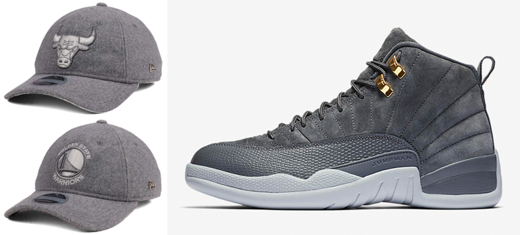 jordan-12-dark-grey-new-era-nba-cashmere-hats