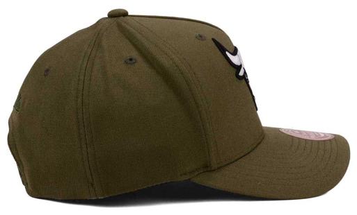 jordan-13-olive-bulls-flexfit-snapback-cap-1