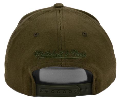 jordan-13-olive-bulls-flexfit-snapback-cap-2