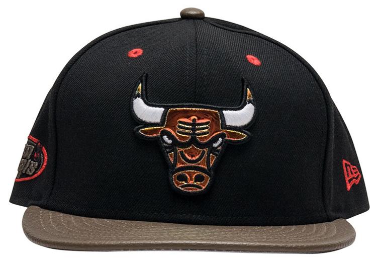 jordan-13-olive-bulls-sneaker-hook-hat-3