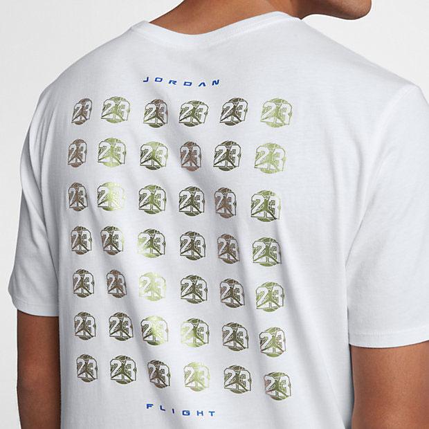 jordan-13-olive-sneaker-tee-white-3