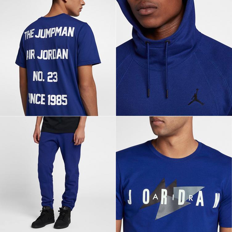 """bc3b1f1a7f05 Air Jordan 18 """"Sport Royal"""" Matching Clothing"""