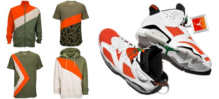 "Foot Locker Sneaker Hook Apparel to Match the Air Jordan 6 ""Gatorade"""