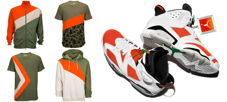 best cheap 574f4 a0e96 Jordan 6 Like Mike Gatorade Clothing to Match | SneakerFits.com