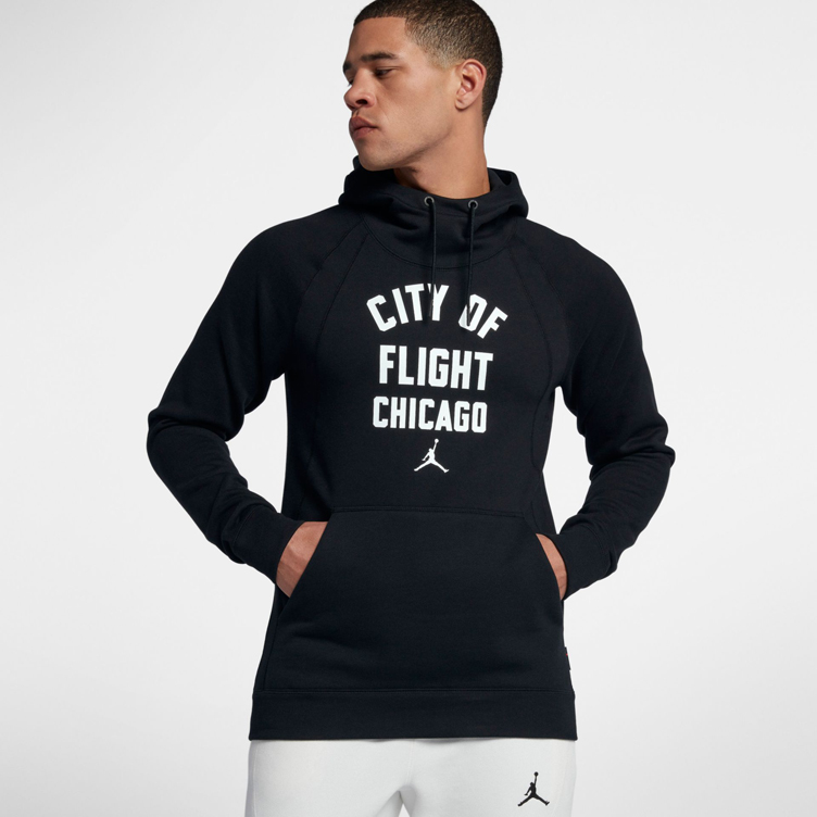 cozy fresh official store great quality Jordan City of Flight LA Chicago NYC Hoody | SneakerFits.com