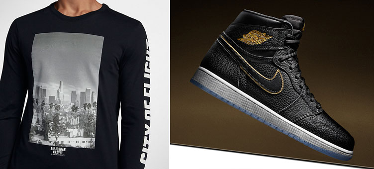 9abc3ea0813 Jordan 1 All Star LA City of Flight Shirt | SneakerFits.com