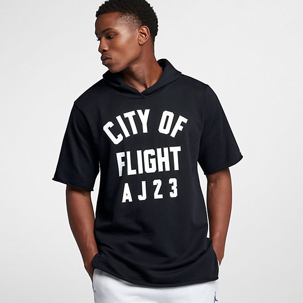 jordan-city-of-flight-short-sleeve-hoodie-black-1