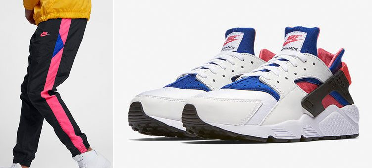 nike-air-huarache-91-qs-pink-royal-pants