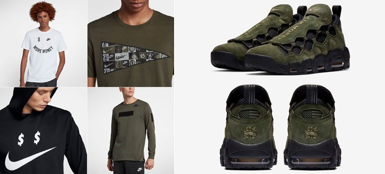 nike-air-more-money-green-matching-shirts