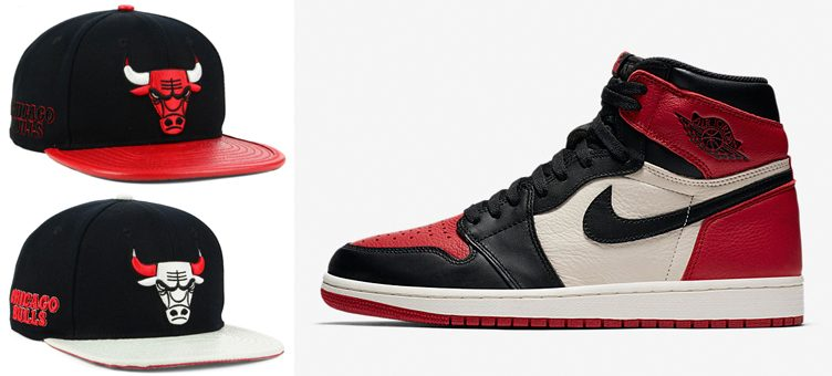 air-jordan-1-bred-toe-bulls-hats