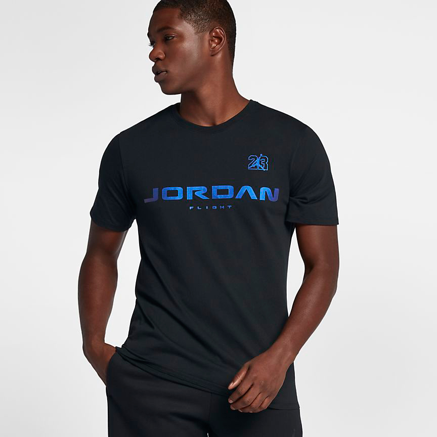Air jordan 13 hyper royal t shirt for Jordan royal 1 shirt