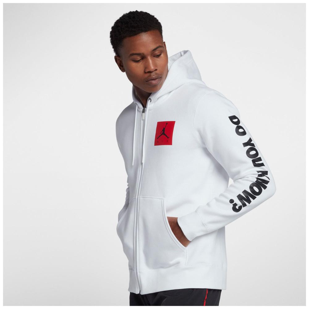 Jordan zip hoodie
