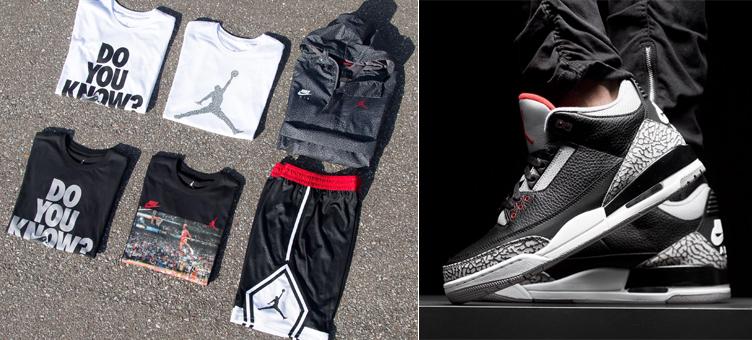 bacae5b60e0 air-jordan-3-black-cement-matching-clothing