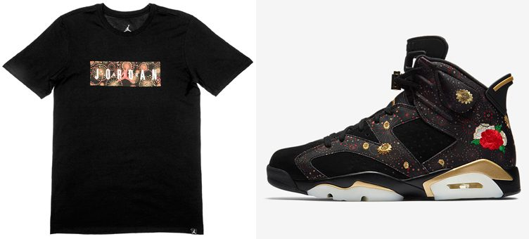 "Air Jordan 6 ""Chinese New Year"" T-Shirt"