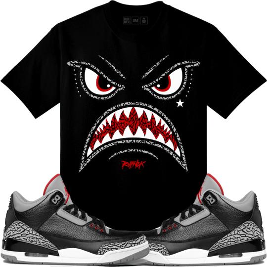 black-cement-3-sneaker-shirt-2