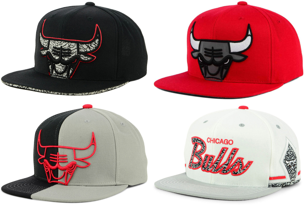 The Best Bulls Hats to Match the Jordan 3 Black and White Cement ... d92383a6939