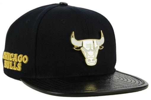 jordan-1-gold-toe-bulls-black-snapback-hat-1