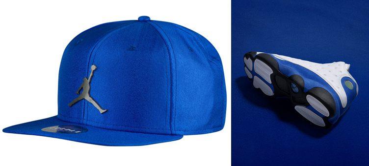jordan-13-hyper-royal-snapback-hat