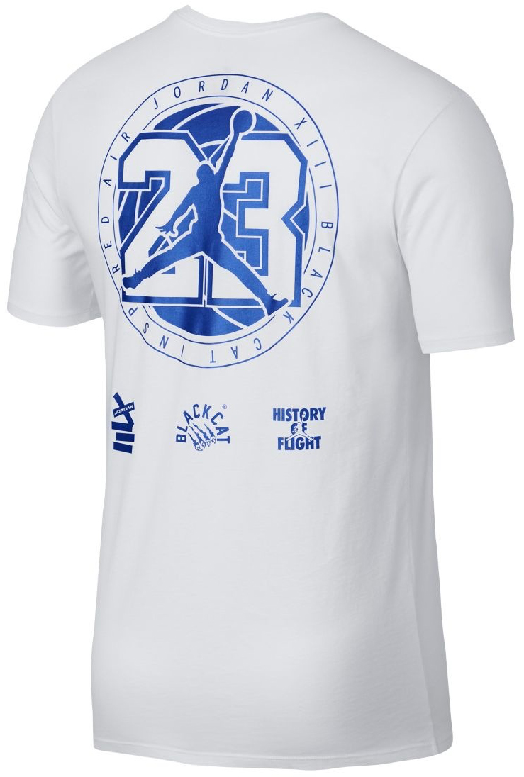 jordan-13-white-royal-shirt-2