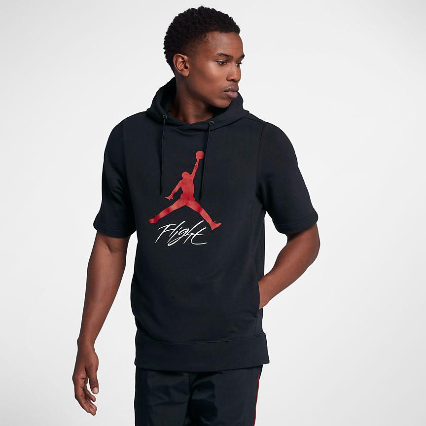 jordan-3-black-cement-short-sleeve-hoodie-2