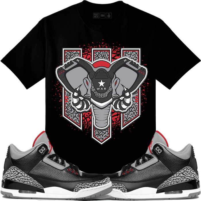 jordan-3-black-cement-sneaker-match-tee-1