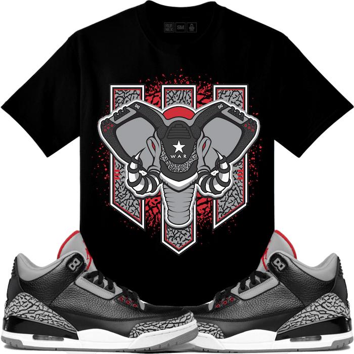 jordan-3-black-cement-sneaker-match-tee-1