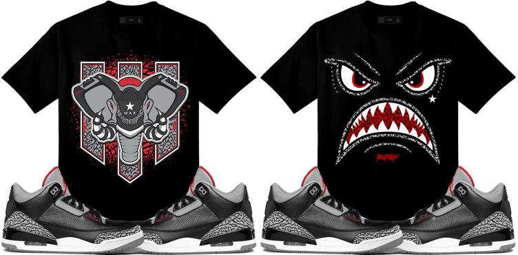 jordan-3-black-cement-sneaker-tees