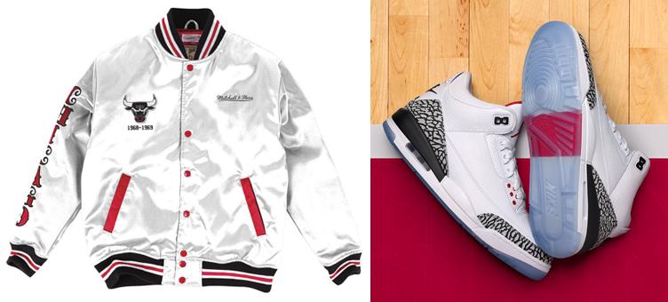 expedido freír detergente  Jordan 3 Free Throw Line Bulls Jacket | SneakerFits.com