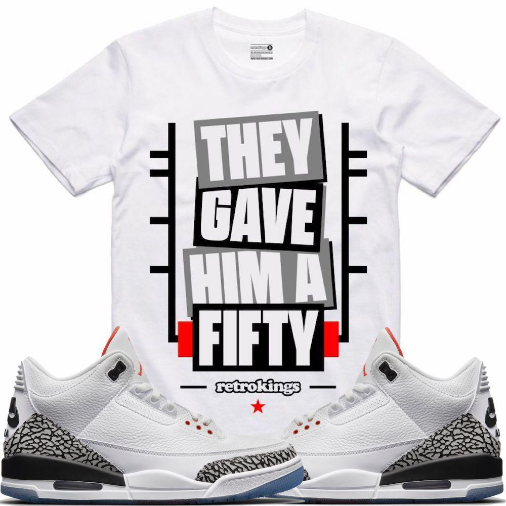 jordan-3-white-cement-free-thrown-line-sneaker-match-shirt-1