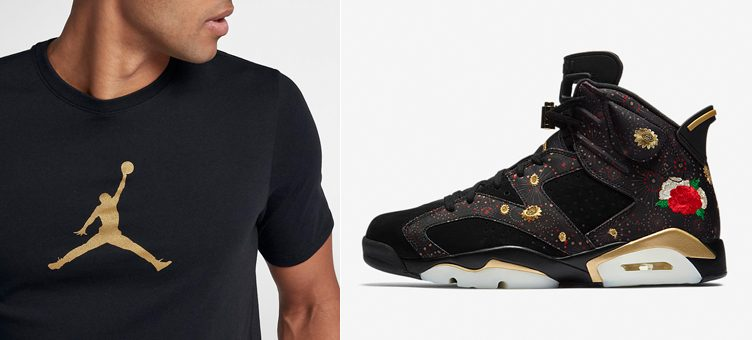 "Jordan Brand T-Shirts to Match the Air Jordan 6 ""Chinese New Year"""