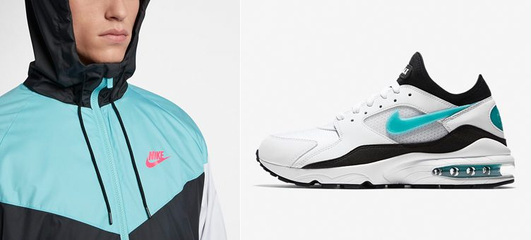 "Nike Air Max 93 ""Dusty Cactus"" x Nike Sportswear Windrunner Jacket"