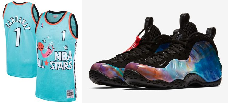 "Nike Air Foamposite One ""Big Bang"" x Penny Hardaway Mitchell & Ness 1996 NBA All-Star Swingman Jersey"