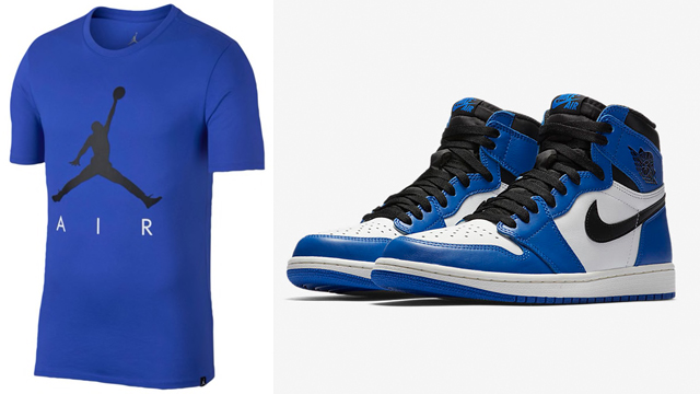 "1876d551bada1d Air Jordan 1 Retro High OG ""Game Royal"" x Jordan Jumpman Air Graphic T-Shirt"