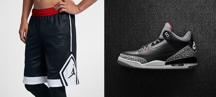 070aefe1ee604c Air Jordan 3 Black Cement Shorts