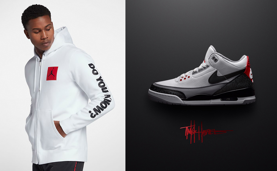 finest selection 3bacc 16712 Air Jordan 3 Tinker Hoodies | SneakerFits.com