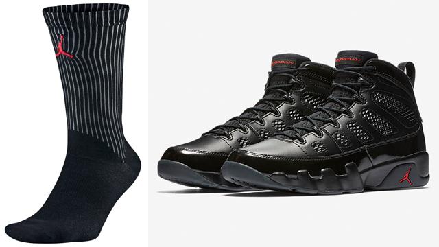 bred-jordan-9-socks