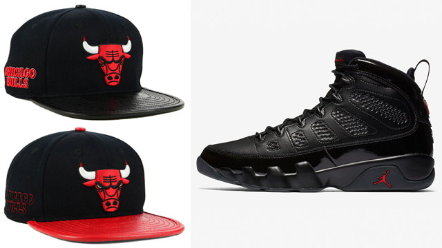 bulls-caps-to-match-jordan-9-bred