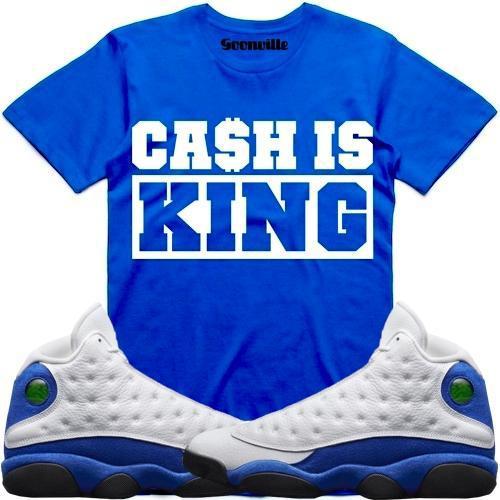 hyper-royal-jordan-13-sneaker-tee-shirt-1