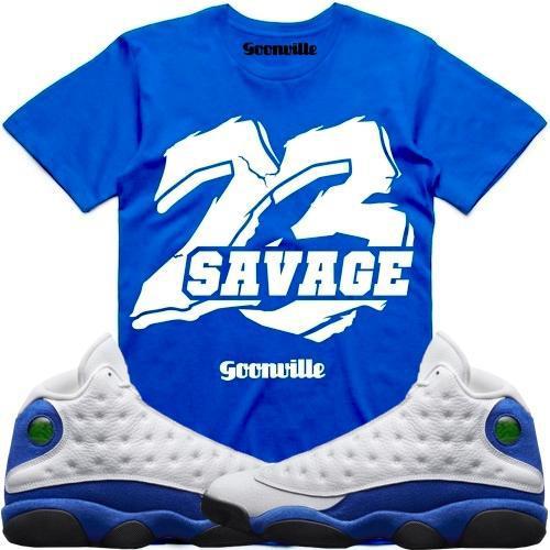 hyper-royal-jordan-13-sneaker-tee-shirt-11