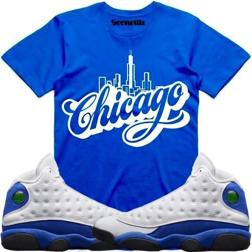 hyper-royal-jordan-13-sneaker-tee-shirt-2