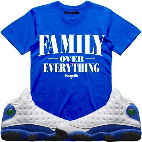 hyper-royal-jordan-13-sneaker-tee-shirt-3