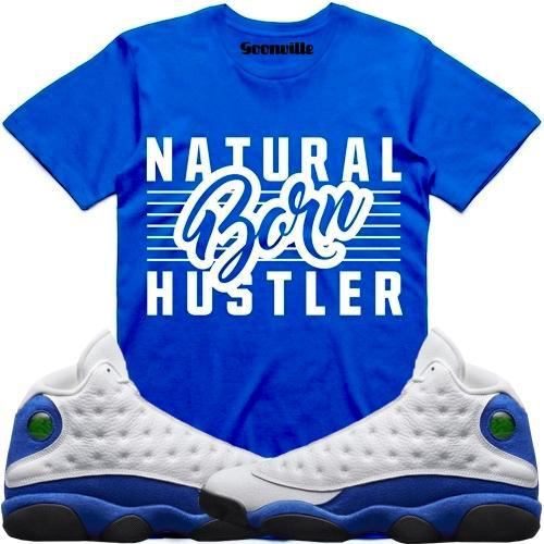 hyper-royal-jordan-13-sneaker-tee-shirt-4