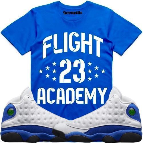 hyper-royal-jordan-13-sneaker-tee-shirt-7